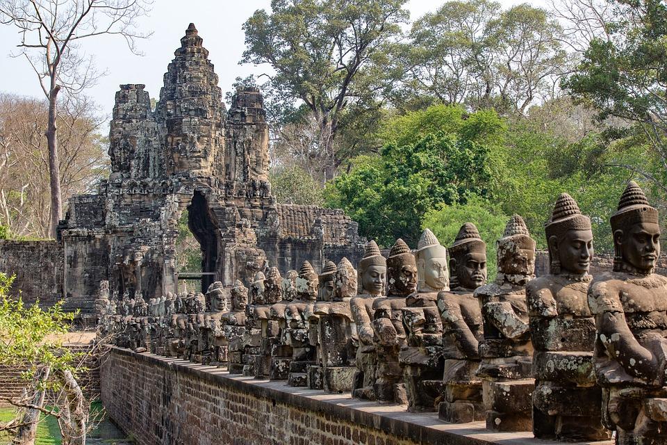 Angkor Thom temple, Cambodia