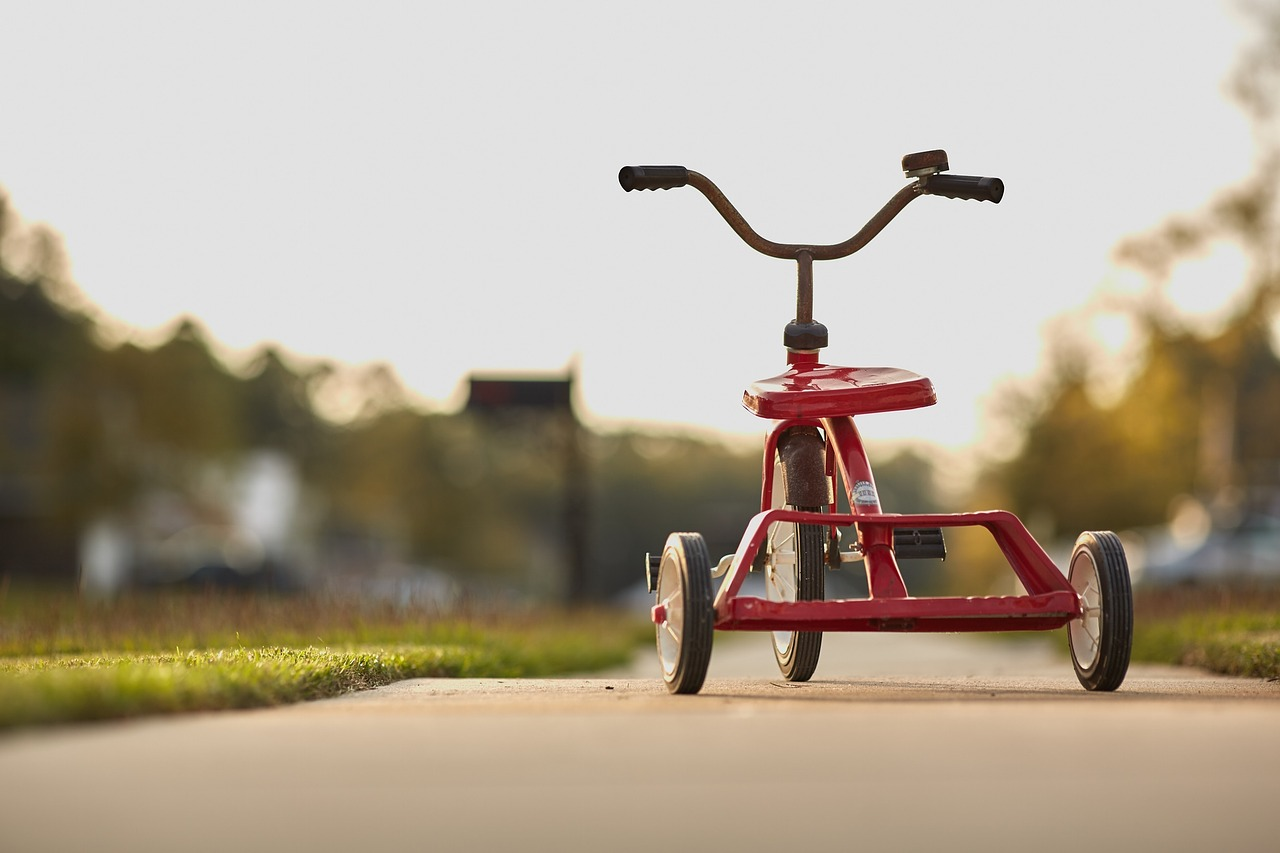 Picture of a tricycle